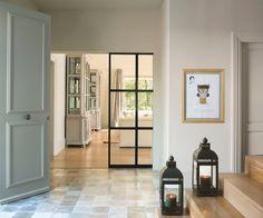 Architect Design House, House Design, Modern Interior, Interior Design, Iron Doors, Window Wall, Luxury Living, Windows And Doors, Family Room
