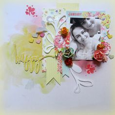 My Creative Scrapbook- January kit-Limited Edition