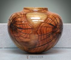 Greg Campbell Turned Wood Vessel by MyohoDane