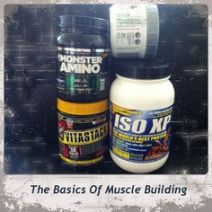 Basic Supplements For Muscle Building Muscle Builder, Build Muscle, Nutrition, Building, Gain Muscle, Buildings, Muscle Building, Construction, Muscle Up
