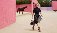 www.pegasebuzz.com | Léa Seydoux by Patrick Demarchelier for Louis Vuitton, summer 2016.