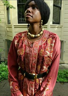 we crave beauty :: my own style-- color and a native folk femme feel... ornamented with lots of old tribal jewels