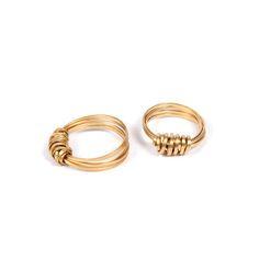 My design inspiration: Ribbon Ring Brass 2Pk on Fab.