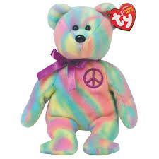 40e181e53ad Beanie babies! I have this bear I think Big Stuffed Animal