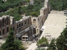 Ancient Epidaurus Greece - I took a short winter break to Athens in Jan 1975. Whilst there, I went on an excursion to the Peloponnese. Epidaurus was one of the places visited.
