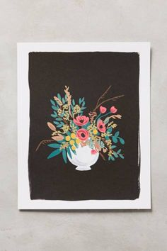 Vase Study Print by Rifle Paper Co. love it love it love it.