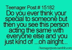 Mostly with guys! Super nice to you then you see them with another girl -_-