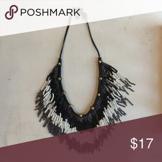 Free people necklace Short fringe necklace Free People Jewelry Necklaces