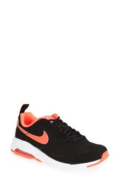 Nike 'Air Max - Muse' Sneaker (Women) Black/ Bright Mango/ Pink Size 11 M - $50 on Vein - getvein.com