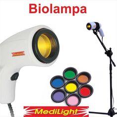 Biolampa MediLight s kolorterapiou + stojan