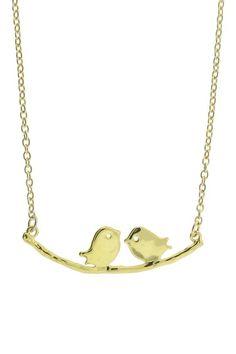 Love Birds Necklace.
