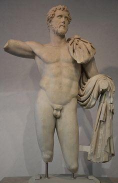 Marble statue of Antoninus Pius found in Terracina (Italy), Palazzo Massimo alle Terme, Rome Ancient Art, Ancient History, Ancient Greek, Antoninus Pius, Roman Sculpture, Roman History, Roman Emperor, Roman Art, Best Artist