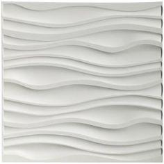 Decorative Wall Panels PVC Corrugated Wall Design - 3 d tile Vinyl Wall Panels, Decorative Wall Panels, Ceiling Panels, Textured Wall Panels, Embossed Wallpaper, Wallpaper Panels, White Wallpaper, 3d Wallpaper, Feng Shui