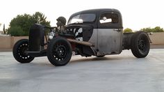 new headers 1942 Ford F 100 hot rod