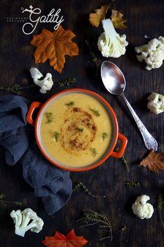 Kulinarne przygody Gatity - przepisy pełne smaku: Zupa krem serowo-kalafiorowa