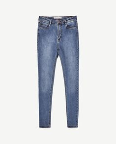 Image 8 of HIGH-RISE SKINNY FIT JEANS from Zara