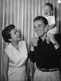 Kirk Douglas  en Famille