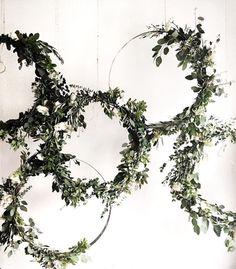 DIY Wedding Decor, Embroidery Hoops with Greenery, Wedding Planning Tips, DIY Bride, DIY Wedding Decorations, DIY Wedding Decor, DIY Wedding, DIY Crafts - Brandi's Bride Tribe https://www.facebook.com/groups/BrandisBrideTribe/