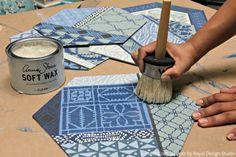 Color Trend: 8 Indigo Blue Stencil Décor Ideas