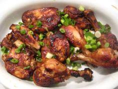Mom Blogger Kathy shares a tasty (& easy!) #Hoisin chicken wing recipe! #SignatureMoms
