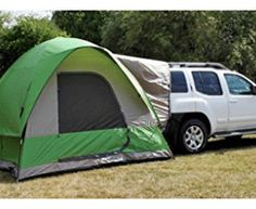 Napier Outdoors Backroadz 13100 SUV Tent - Turn your minivan or SUV into part of the ultimate camping experience with the Backroadz 13100 SUV Tent. With a large, comfortable x bas. Minivan Camping, Truck Camping, Camping Glamping, Family Camping, Camping Gear, Outdoor Camping, Outdoor Gear, Camping Outdoors, Camping Hacks