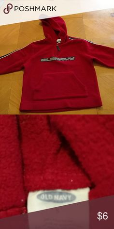Old navy hoodie Old Navy fleece hoodie. Excellent condition. Smoke free home. Size 5 boys. Old Navy Jackets & Coats