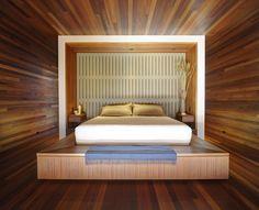 Sam's Creek : Moderne slaapkamers van Bates Masi Architects