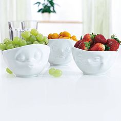 tassen bowls with cute faces by the gift oasis | notonthehighstreet.com