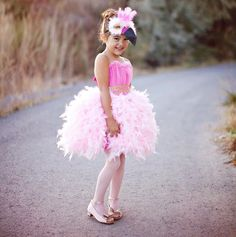 // be a flamingo in a flock of pigeons @alexiasotelo // share your little' costume #joyfoliedressup // Don't miss out on a special sale today only!  Happy Halloween!! #alltreatsnotricks //