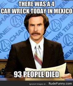 4 car wreck in Mexico is something different - http://www.rudefunny.com/memes/4-car-wreck-in-mexico-is-something-different/
