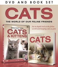 Cats Dvd and Book Gift Set GREATEST TIPS: CATS  KITTENS DVD This is the DVD for all cat lovers! Presented by Joe Inglis star of the highly successful BBC series Vets in Practice and former Blue Peter vet it is full of great ti http://www.MightGet.com/january-2017-12/cats-dvd-and-book-gift-set.asp