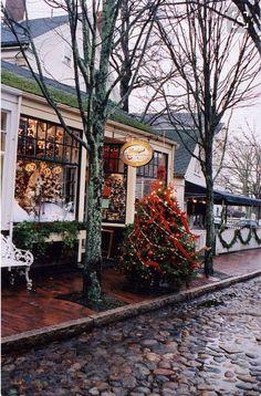 Cute Christmas shop