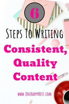 Are you struggling with creating good quality content consistently? Here's my 6 top tips to creating quality content every week. Create Your Own Blog, Creating A Blog, Social Media Content, Social Media Tips, Content Marketing Strategy, Marketing Opportunities, Email Marketing, Affiliate Marketing, Digital Marketing