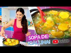 ¿Cómo se hace la Sopa o Sancocho de Gallina? - YouTube Chefs, Youtube, Eggs, Breakfast, Food, Soups, Recipes, Find Friends, Hens