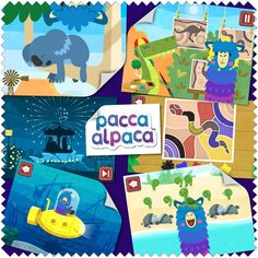 """Really well put together,"" ""Like an interactive storybook,"" and ""fun"" - just some of the super fluffy feedback Pacca Alpaca's been getting, shukran!"