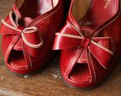 1940's Peep toes