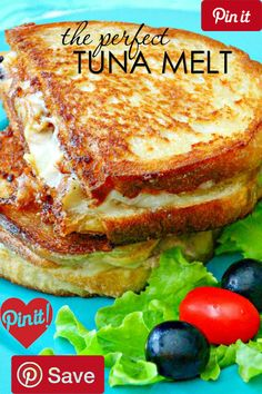 The Perfect Tuna Melt - Ingredients  Seafood  1 Tuna  Produce  1 Celery  1 clove Garlic  1 Onion medium size  1 Parsley  Condiments  3 tbsp Mayonnaise  Baking & Spices  1 Salt and pepper  Oils & Vinegars  1 Olive oil  Bread & Baked Goods  1 Bread  Dairy  1 Butter  1 Mozzarella #delicious #diy #Easy #food #love #recipe #recipes #tutorial #yummy @mabarto - Make sure to follow cause we post alot of food recipes and DIY we post Food and drinks gifts animals and pets and sometimes art and of…
