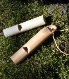 Making an Elder Whistle / Jon's Bushcraft