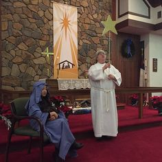 Following yonder star... Epiphany Party 2015 (hosted by Messiah Lutheran & All Souls Episcopal) had special visitors: Mary, Jesus and the Magi bearing gifts | by Messiah Lutheran (Mechanicsville, VA)