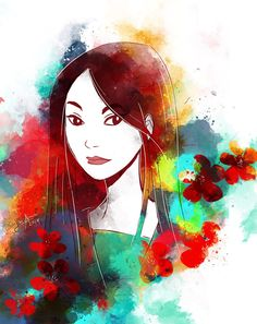«My, my, what beautiful blossoms we have this year. But look, this one's late! I bet when it blooms, it will be most beautiful of all.». -- Fa Zhou (#Mulan)