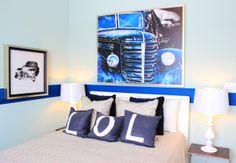 #Bedroom in the Talbot model home at Arcadia Springs in Martinsburg, WV- http://arcadia-springs.com/arcadia-springs/our-homes/talbot/ #boysroom