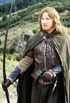 David Wenham as Faramir in 'LOTR: The Return of the King'