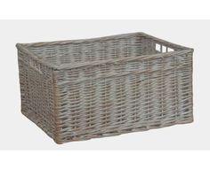 Storage Open Wicker Basket Brambly Cottage Size: 21cm H x 43cm W x 30cm D