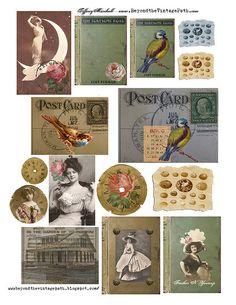 Lots of free printables - Collage Sheet Freebie by TiffanyJane, via Flickr