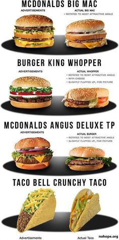 The modern food from today is fast food. During the Renaissance there was no fast food. All the food was hand made