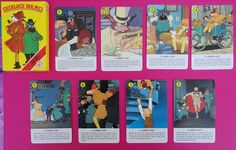 Vintage Sherlock Holmes playing cards / Baraja de cartas Sherlock Holmes de Fournier | Flickr - Photo Sharing!