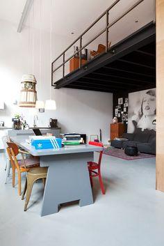 Mix of Loft Spaces