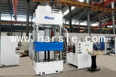 HARSLE four column hydraulic press Hydraulic Press Machine, Hydraulic Press Brake, Company Logo, Gym, Excercise, Gymnastics Room, Gym Room