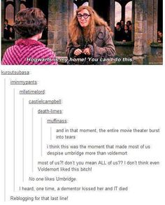 Nobody likes Umbridge