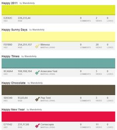 30 Color Palettes for New Beginnings and Fresh Starts